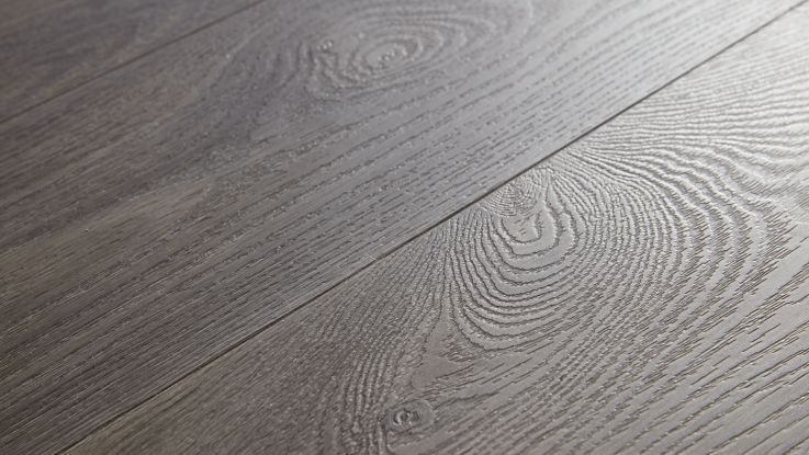 Elegant Dark Grey - Vinyl Planks floor