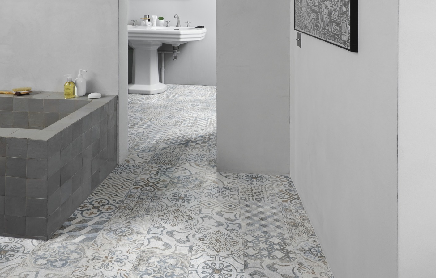 Phenomenal Laminate For A Warm Water Resistant Bathroom Floor Home Interior And Landscaping Ologienasavecom