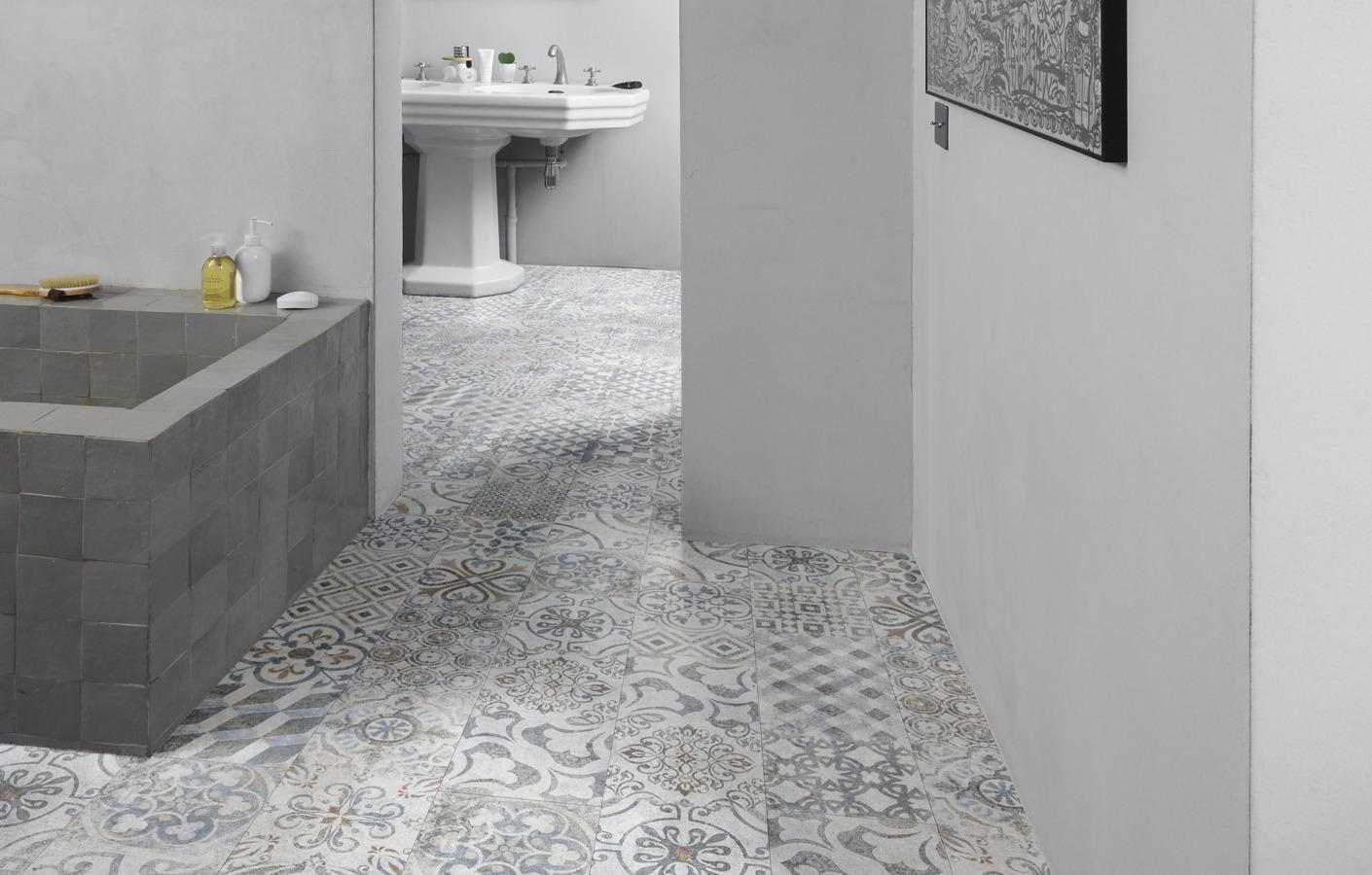 Water Resistant Bathroom, Grey Bathroom Laminate Flooring
