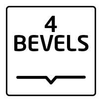 4 bevels