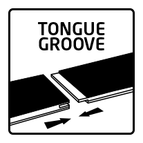 Tongue groove