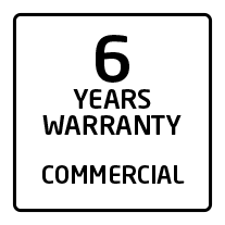 6 commercial warranty